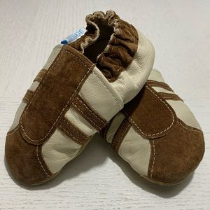 'Jack and Lilly' Soft Leather Baby Shoes